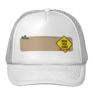 Bear Free Zone 2 Hat