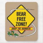 Bear Free Zone Mousepad