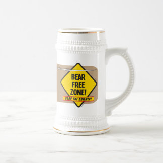 Bear Free Zone Stein