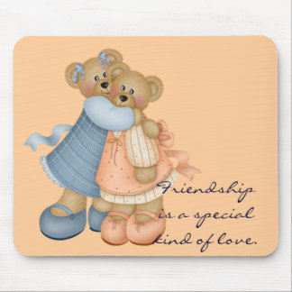 Bear Friends 3 - Friendship is Mouse Pad