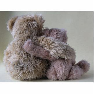 bear friends photo sculpture small