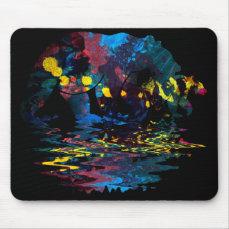 Bear Full Colour Paint Mouse Pad