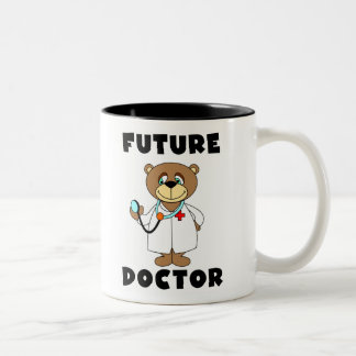 Bear Future Doctor Coffee Mugs