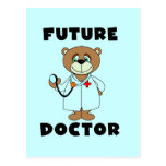 Bear Future Doctor Tshirts and Gifts Postcards