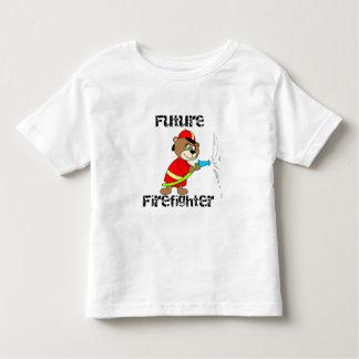 Bear Future Firefighter Toddler T-shirt