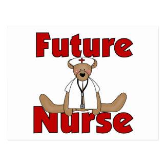 Bear Future Nurse T-shirts and Gifts Postcard