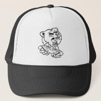 Bear Gamer Mascot Trucker Hat