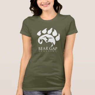 Bear Gap Vaulting White Text Shirt