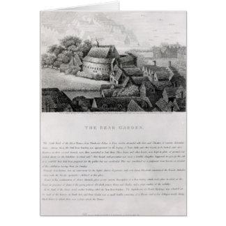 Bear Garden, 1647 Card
