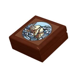 Bear Gift Box Custom Polar Bear Jewelry Box