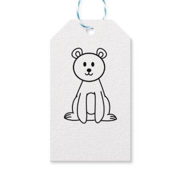 jasmineflynn Bear Gift Tags