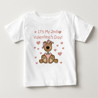 Bear Girl 2nd Valentine's Day T-shirt