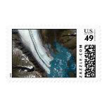 Bear Glacier in Alaska Stamps