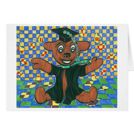 Bear Graduate Stationery Note Card