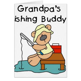 Bear Grandpas Fishing Buddy Cards