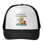 Bear Grandpas Fishing Buddy Mesh Hat