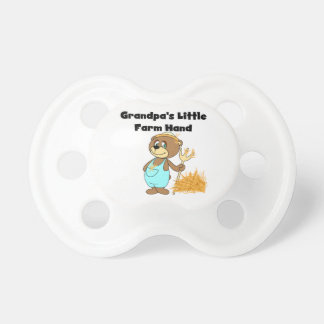 Bear Grandpa's Little Farm Hand Pacifier
