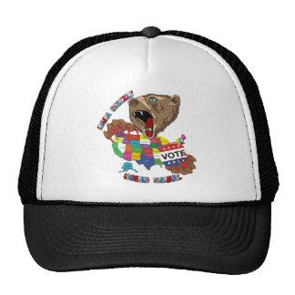 Bear-Graphic-3 Trucker Hat