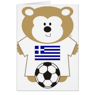 BEAR GREECE CARD