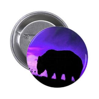 Bear Grizzly Wild Animals Wildlife Button