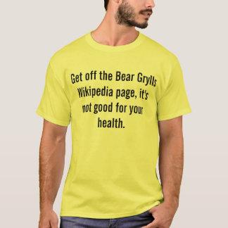 bear grylls wikipedia T-Shirt