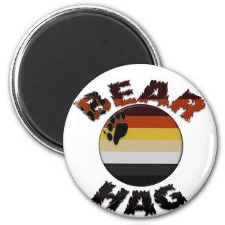 Bear Hag 2 Inch Round Magnet