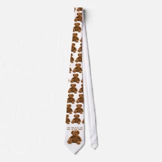 Bear Hands Neck Tie