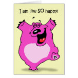 Bear Happy by DT Walsh Card