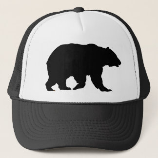 Bear Hat Grizzly Bear Silhouette