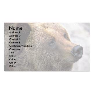 Bear Head Business Card