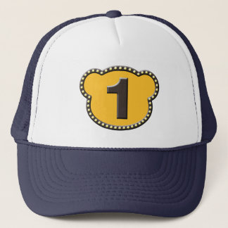 Bear Head Number 1 Trucker Hat
