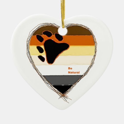 Bear Heart Ornament