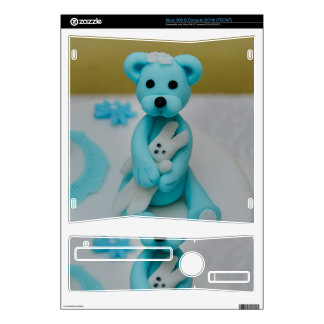 Bear holding a bunny cake topper xbox 360 s skin