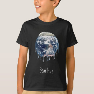 Bear Hug (Add Background Color) T-Shirt