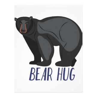 Bear Hug Letterhead