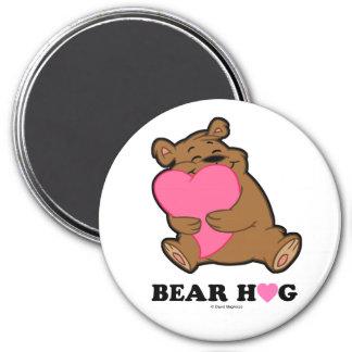Bear Hug Round Magnets
