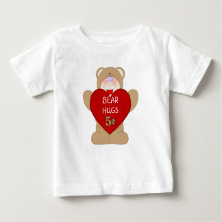 Bear Hugs 5-cents  Infant T-Shirts