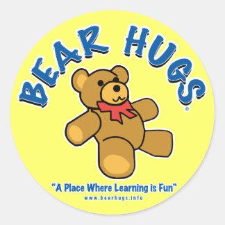 Bear Hugs Stickers