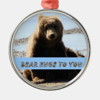 Bear hugs to you ornament