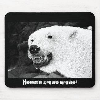 Bear humor mug mouse pad