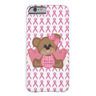 Bear- I Beat Up Cancer Pink Ribbon iPhone 6 Case