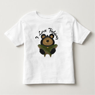Bear I Love Fishing Tshirts and Gifts