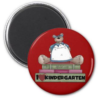 Bear I Love Kindergarten Tshirts and Gifts Magnet
