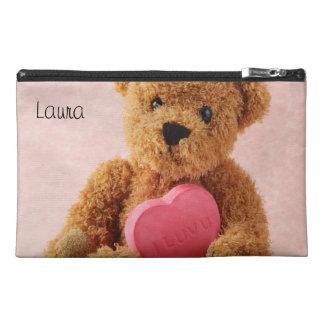 bear i luv u travel accessory bag