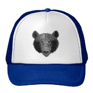 Bear Illustration Trucker Hats