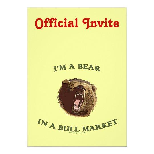 Bear in a Bull Market Card