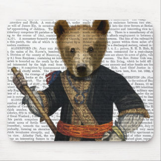 Bear in Blue Robes 2 Mouse Pad