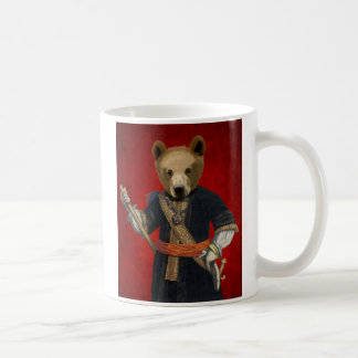 Bear in Blue Robes 3 Coffee Mug