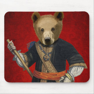 Bear in Blue Robes 3 Mouse Pad