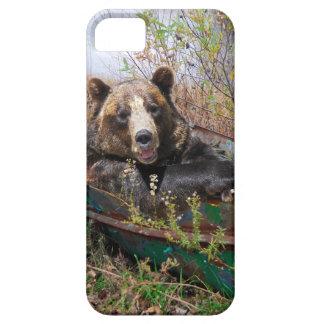 Bear in Boat iPhone SE/5/5s Case